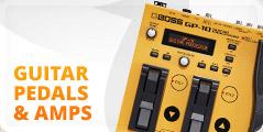 Guitar Pedals & Amps