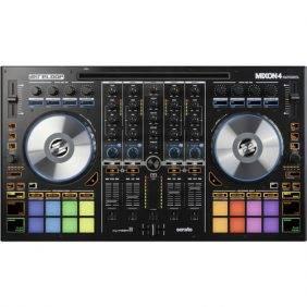 Reloop MIXON 4 DJ Controller for Serato DJ & Algoriddim djay Software