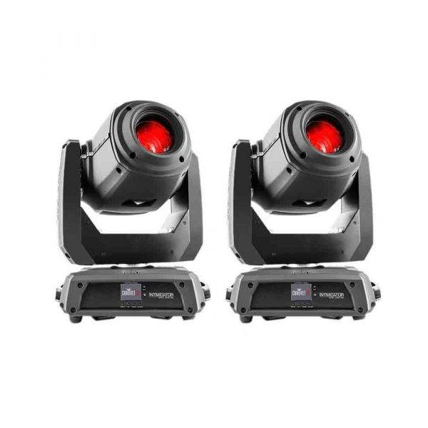 Chauvet Intimidator Spot 375Z IRC 150W LED Moving-head Spot 2-Pack
