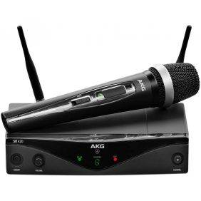 AKG WMS420 Vocal Set Wireless Microphone System Band A Refurbished