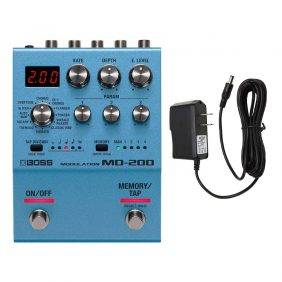 Boss MD-200 Modulation with Pig Power 9V DC 1000ma Power Supply