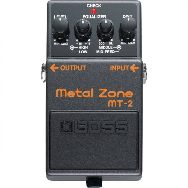 Boss MT-2 Metal Zone Effects Pedal Refurbished