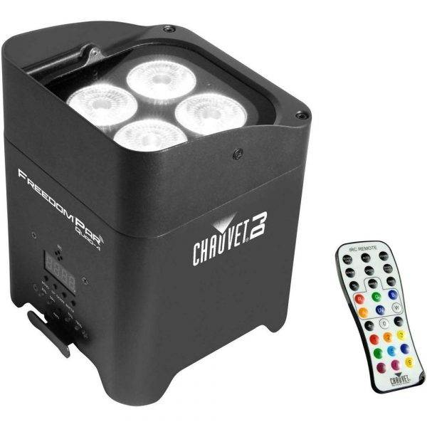 Chauvet Freedom Par Quad-4 LED Lighting Fixture with IRC-6 Refurbished