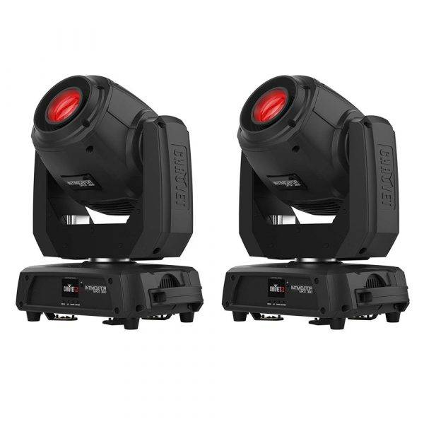 CHAUVET DJ Intimidator Spot 360 LED Moving-Head Light-2 Pack