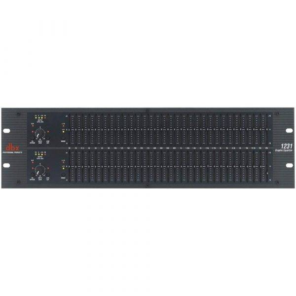 dbx 1231 Dual Channel 31-Band Equalizer Open Box