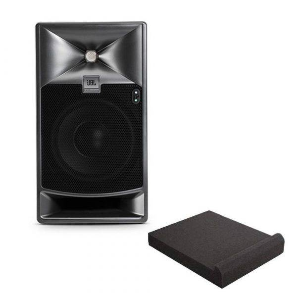 """JBL 705P 5"""" Bi-Amplified Master Reference Monitor with Isolation Pad"""