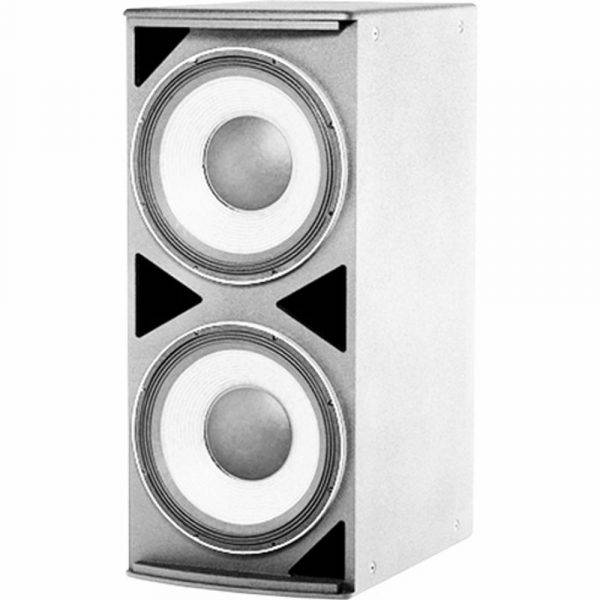 "JBL ASB6125 Dual 15"" Front-Firing Subwoofer (White)"
