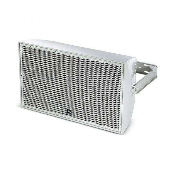 "JBL AW526 High Power 2-Way All-Weather Loudspeaker with 15"" LF (Gray)"