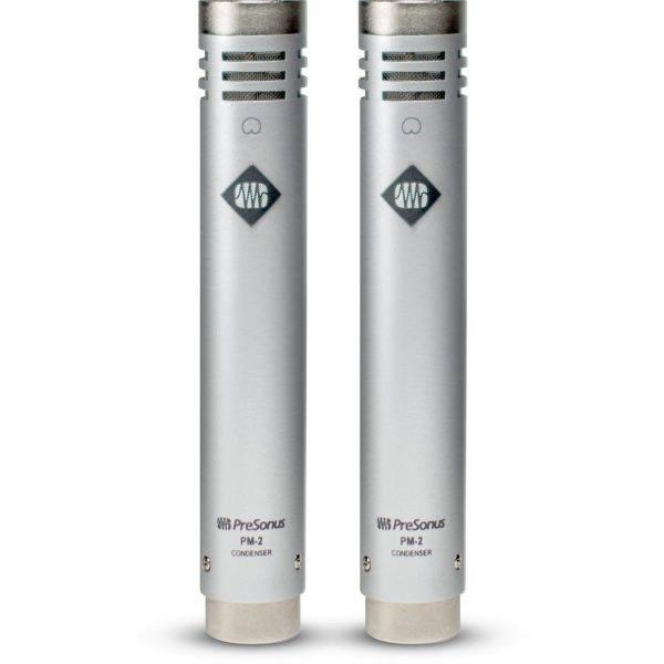 Presonus PM-2 Small Diaphragm Condenser Microphone (Matched Pair)