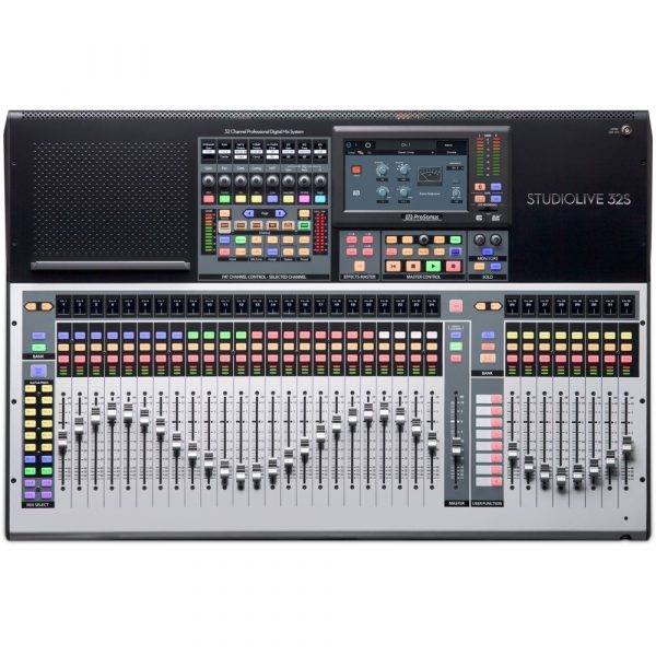PreSonus StudioLive 32S 32-ch Ddigital Mixer and USB Audio Interface