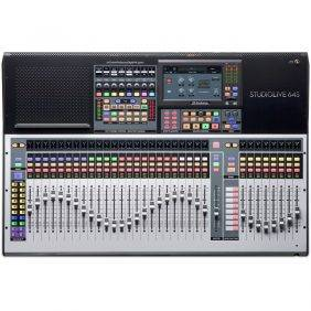 PreSonus StudioLive 64S 64-ch Digital Mixer and USB Audio Interface