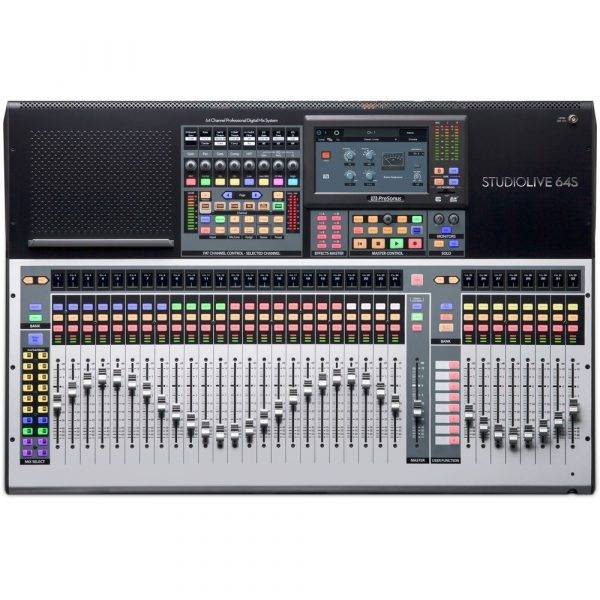 PreSonus StudioLive 64S 64-ch Digital Mixer and USB Audio Interface
