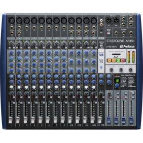 PreSonus StudioLive AR16c 16 channel Hybrid Digital/Analog Mixer