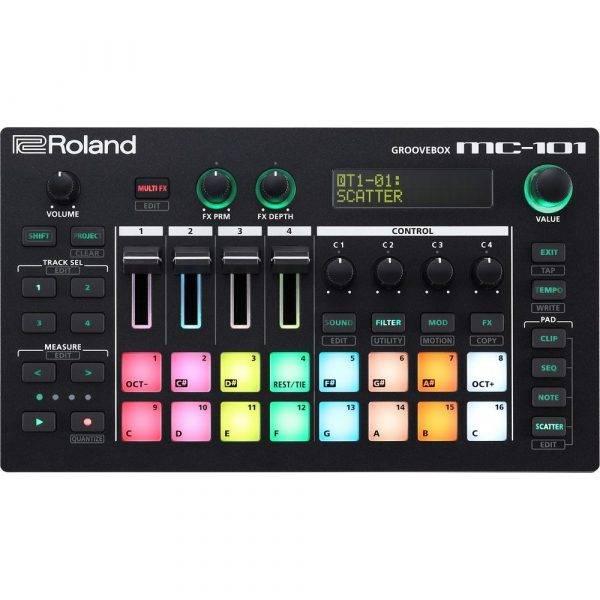 Roland MC-101 Groovebox Music Production Workstation
