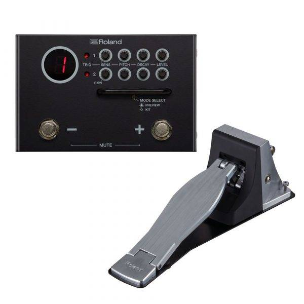Roland TM-1 Trigger Module with KT-10 Kick Trigger