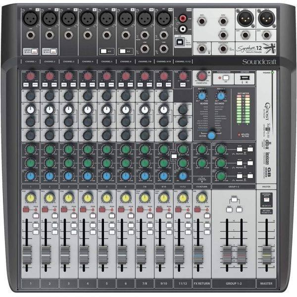 Soundcraft Signature 12MTK Multi-Track Mixer Refurbished