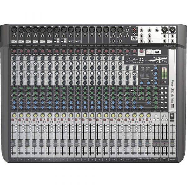 Soundcraft Signature 22 MTK Mixer Open Box