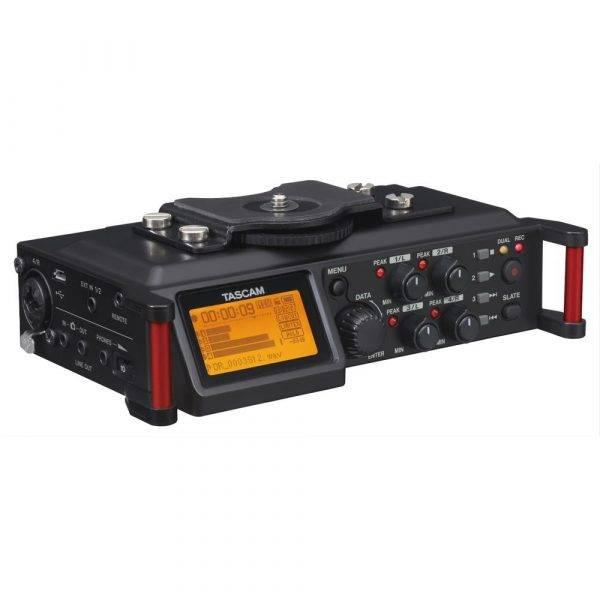 Tascam DR-70D 4-Channel Audio Recorder for DSLR Cameras Refurbished