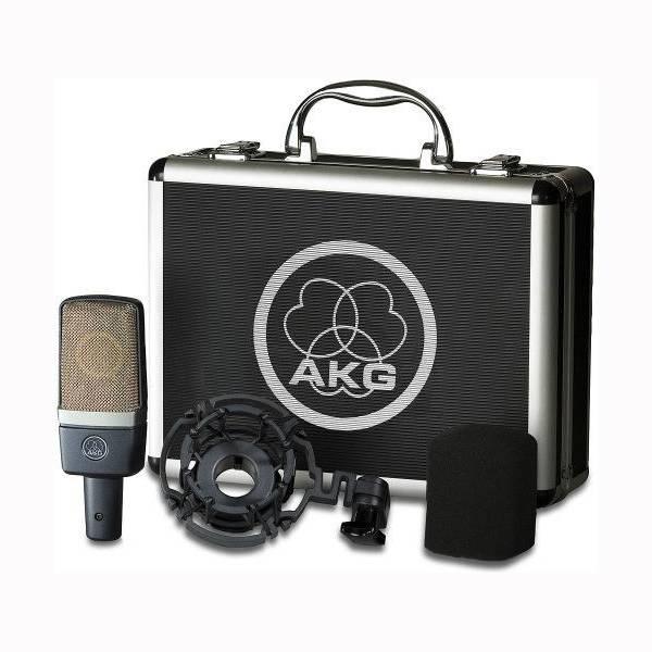 AKG C 214 Studio Cardioid Condenser Microphone