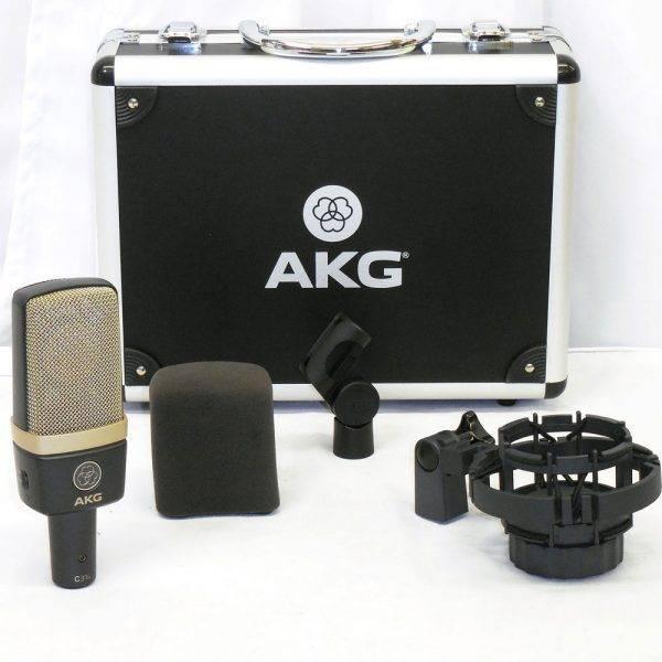 AKG C314 Large-diaphragm Multi-pattern Condenser Microphone