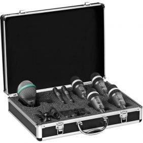 AKG Drum Set Concert 1 Professional Drum Microphone Set