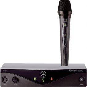 AKG Perception Wireless Vocal Set Band A (SR45 Receiver & HT45 Mic)