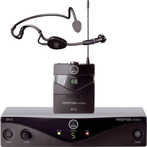 AKG Perception Wireless Sports Set Band A (SR45, PT45 & C 544 L Mic)