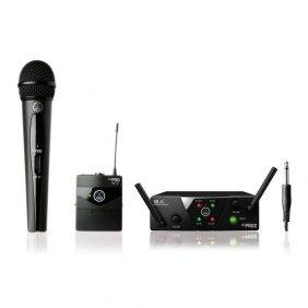 AKG WMS40 Mini2 Dual Vocal & Instrumental Set Wireless Mic System