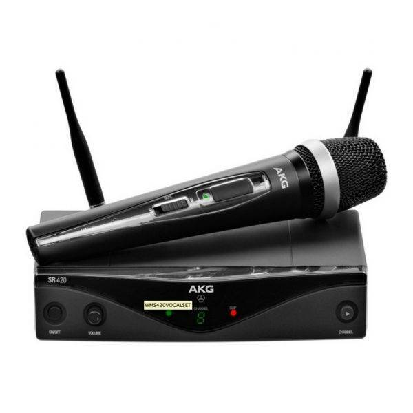 AKG WMS420 Vocal Set Wireless Microphone System Band A
