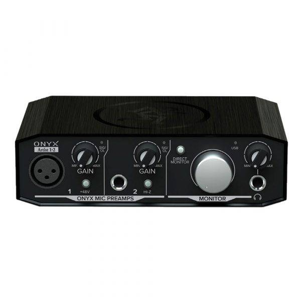 Mackie Onyx Artist 1-2 2-in-2-out USB 2.0 Audio Interface Used