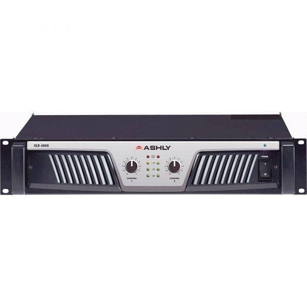 Ashly KLR-4000 Power Amp 2 x (2,000W @ 2) (1,400W @ 4) (850W @ 8) Ohms