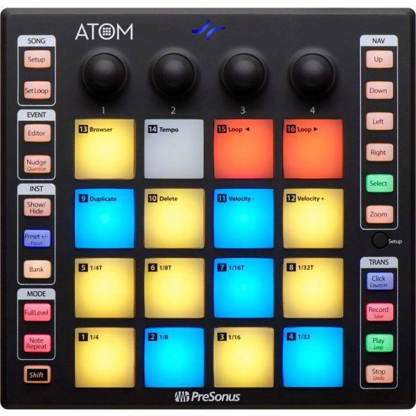 PreSonus ATOM Production and Performance Pad Control Refurbished