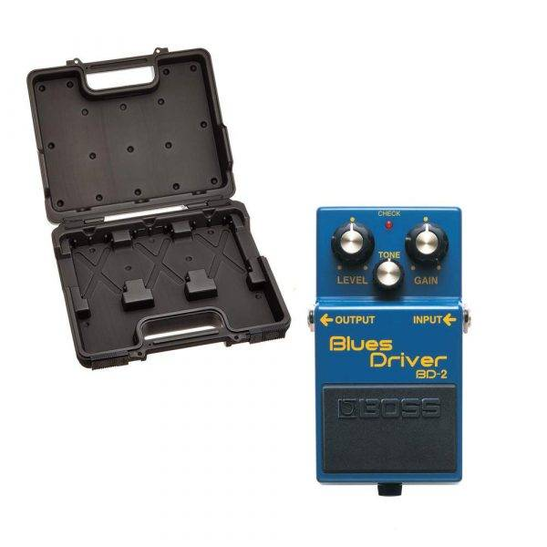 Boss BCB-30 with Boss BD-2  Blues Driver Pedal Bundle