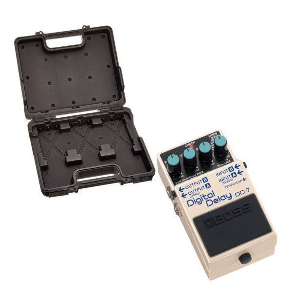 BOSS BCB-30 Pedal Board with BOSS DD-7 Digital Delay Pedal Bundle