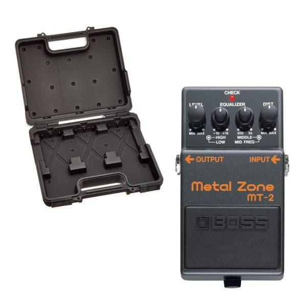 Boss BCB-30 Pedal Board with MT-2 Metal Zone Distortion Pedal Bundle