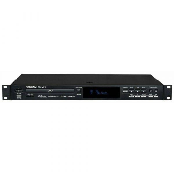 TASCAM BD-MP1 Rackmount Blu-ray and USB Media Player