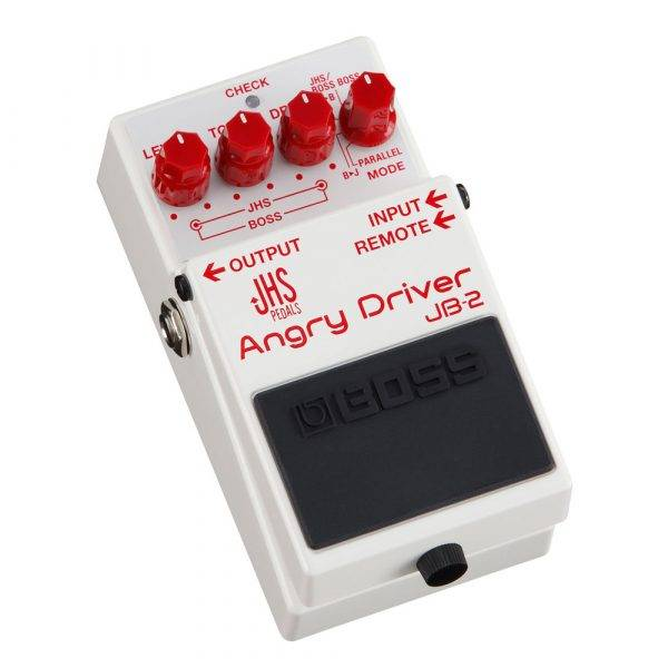 Boss JB-2 Angry Driver OverDrive Pedal for Electric Guitar