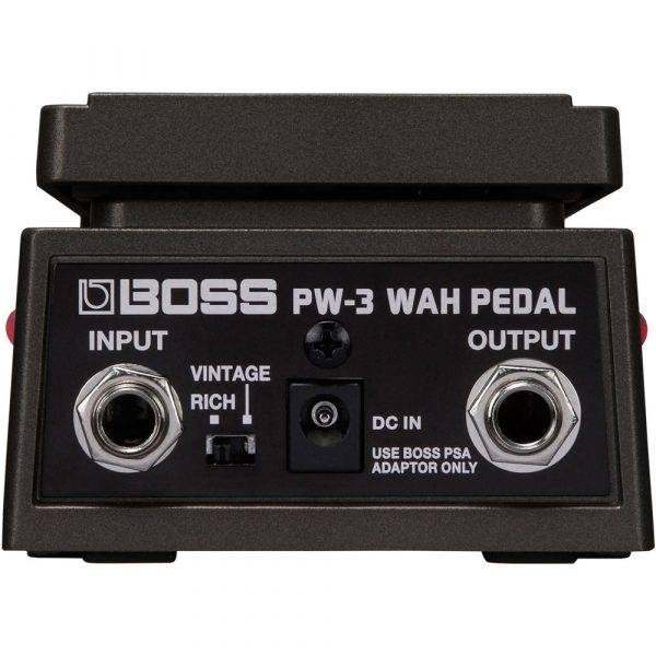 Boss PW-3 Wah Pedal with On/Off LEDs