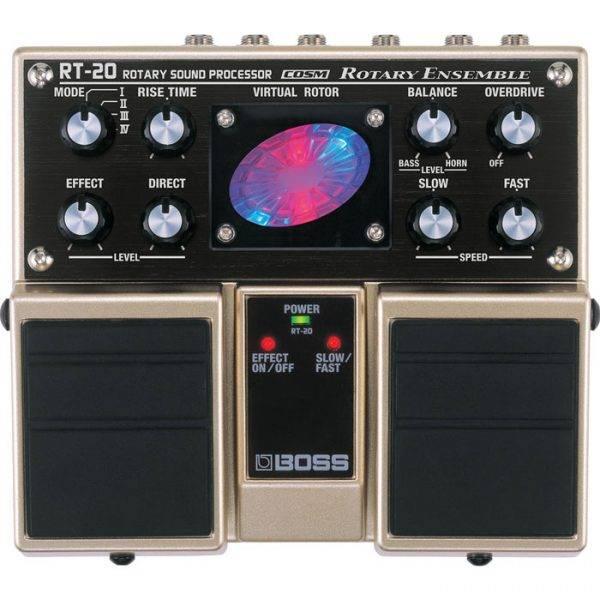 BOSS RT-20 Rotary Ensemble & PigHog PigPower 9V DC 1000ma Power Supply
