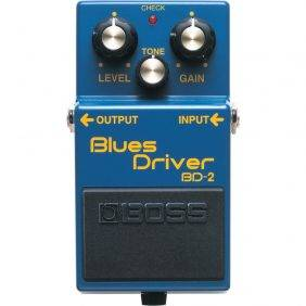 Boss BD-2 Blues Driver Distortion and Overdrive Effects Guitar Pedal