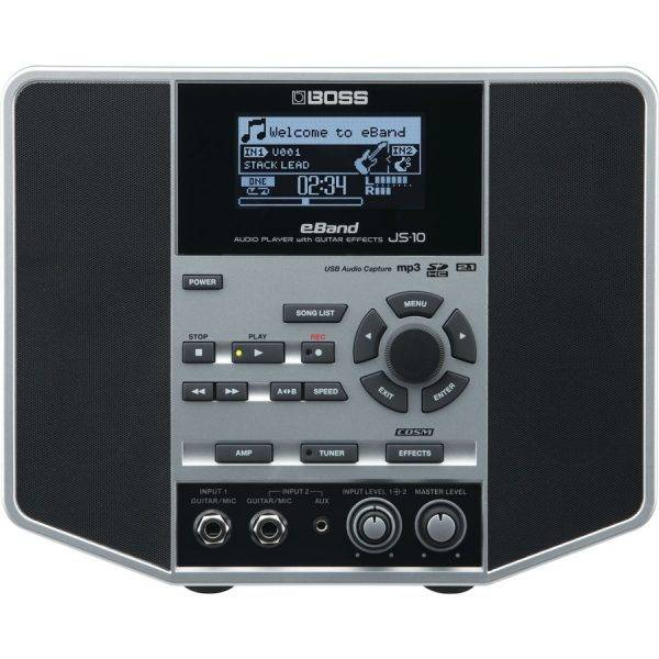 BOSS eBand JS 10 Audio Player and Trainer with Guitar Effects
