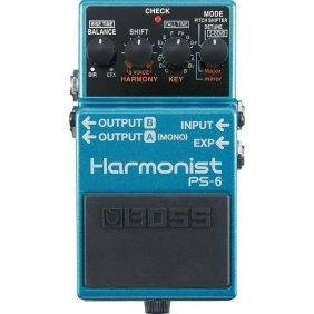 Boss PS-6 Harmonist 3-voice Guitar Harmony Effects Pedal