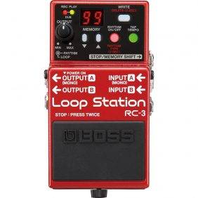 Boss RC-3 Loop Station Compact Phrase Recorder Pedal