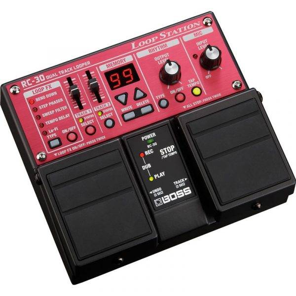 Boss RC-30 Twin Pedal Phrase Loop Pedal