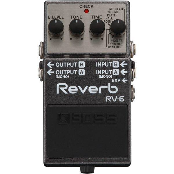 Boss RV-6 Reverb Digital Reverb Pedal