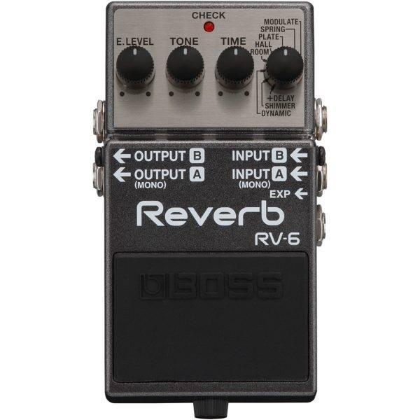 BOSS RV-6 Reverb Digital Reverb Pedal