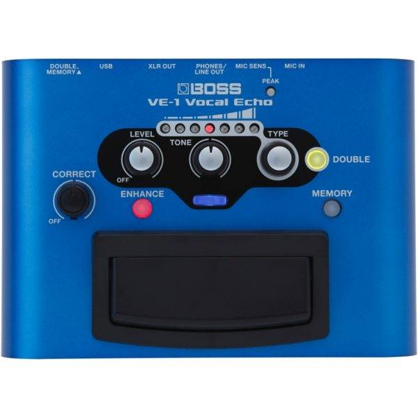 Boss VE-1 Vocal Echo Battery-powered Portable Vocal Processor