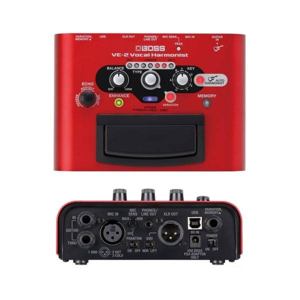 Boss VE-2 Battery-powered Portable Vocal Processor