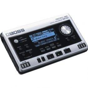 Boss Micro BR BR-80 w/4 Free Universal Electronics AA Batteries