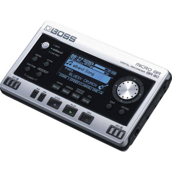Boss Micro BR BR-80 w/4 Free Universal Electronics AA Batteries